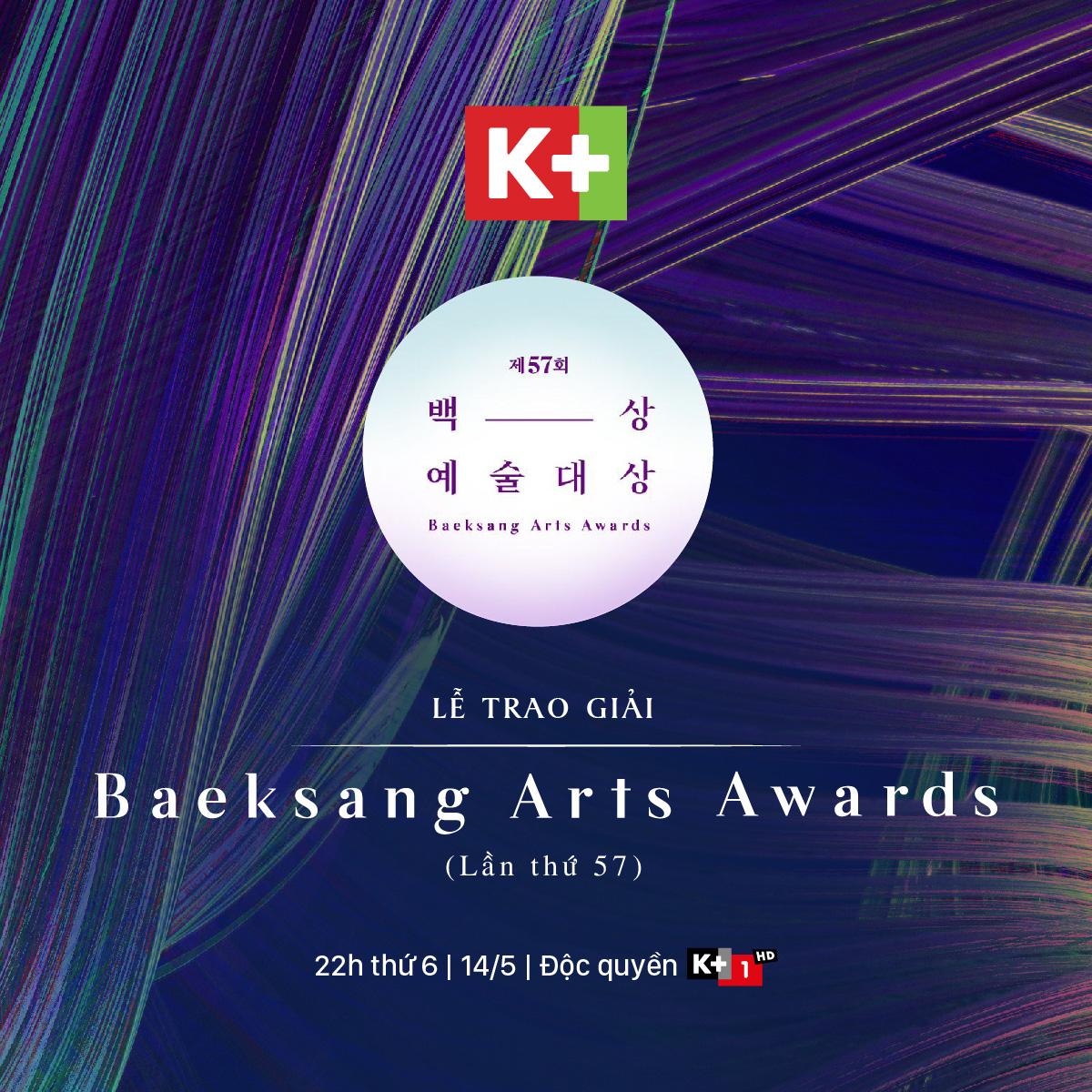 Mùa Baeksang 2021 đáng mong chờ sẽ lên sóng trên K+ - Ảnh 1.