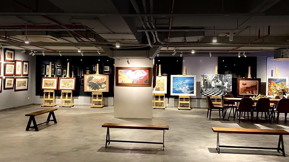 Thêm một không gian sáng tạo dành cho người yêu hội họa tại Sài Gòn - Ảnh 1.