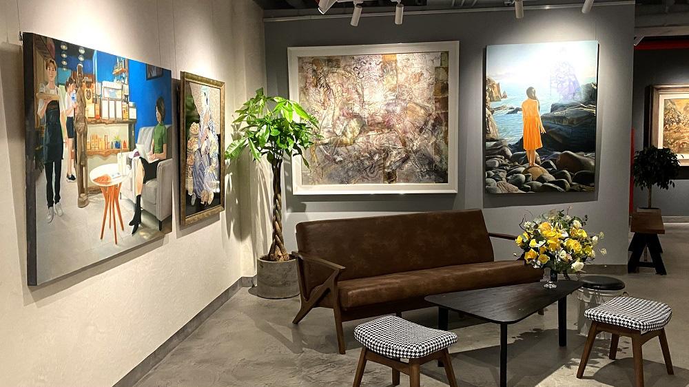 Thêm một không gian sáng tạo dành cho người yêu hội họa tại Sài Gòn - Ảnh 2.
