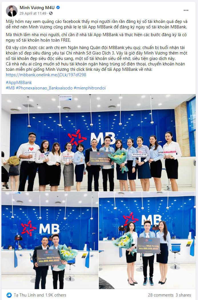 Bắt trend nhanh như sao Việt, ai cũng khoe chiến tích sở hữu số tài khoản đẹp rầm rộ trên trang cá nhân - Ảnh 2.