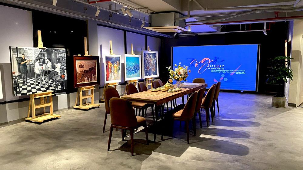Thêm một không gian sáng tạo dành cho người yêu hội họa tại Sài Gòn - Ảnh 3.