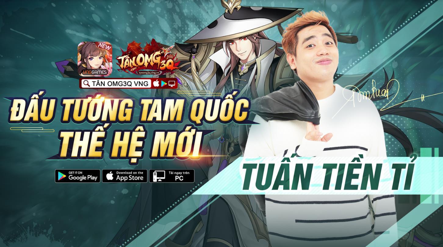 Từ làng streamer đến giới showbiz, các hot boy, hot girl đều thành fan của game chiến thuật Tân OMG3Q VNG - Ảnh 4.