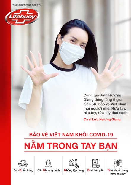 Hàng loạt sao Việt tung hình cổ động tuân thủ 5K - Ảnh 5.