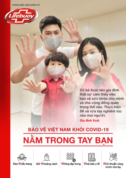 Hàng loạt sao Việt tung hình cổ động tuân thủ 5K - Ảnh 6.