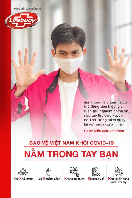 Hàng loạt sao Việt tung hình cổ động tuân thủ 5K - Ảnh 2.