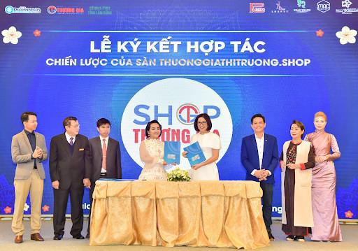 Sàn thương mại điện tử tích hợp báo chí shop Thương gia & Thị trường - Ảnh 1.
