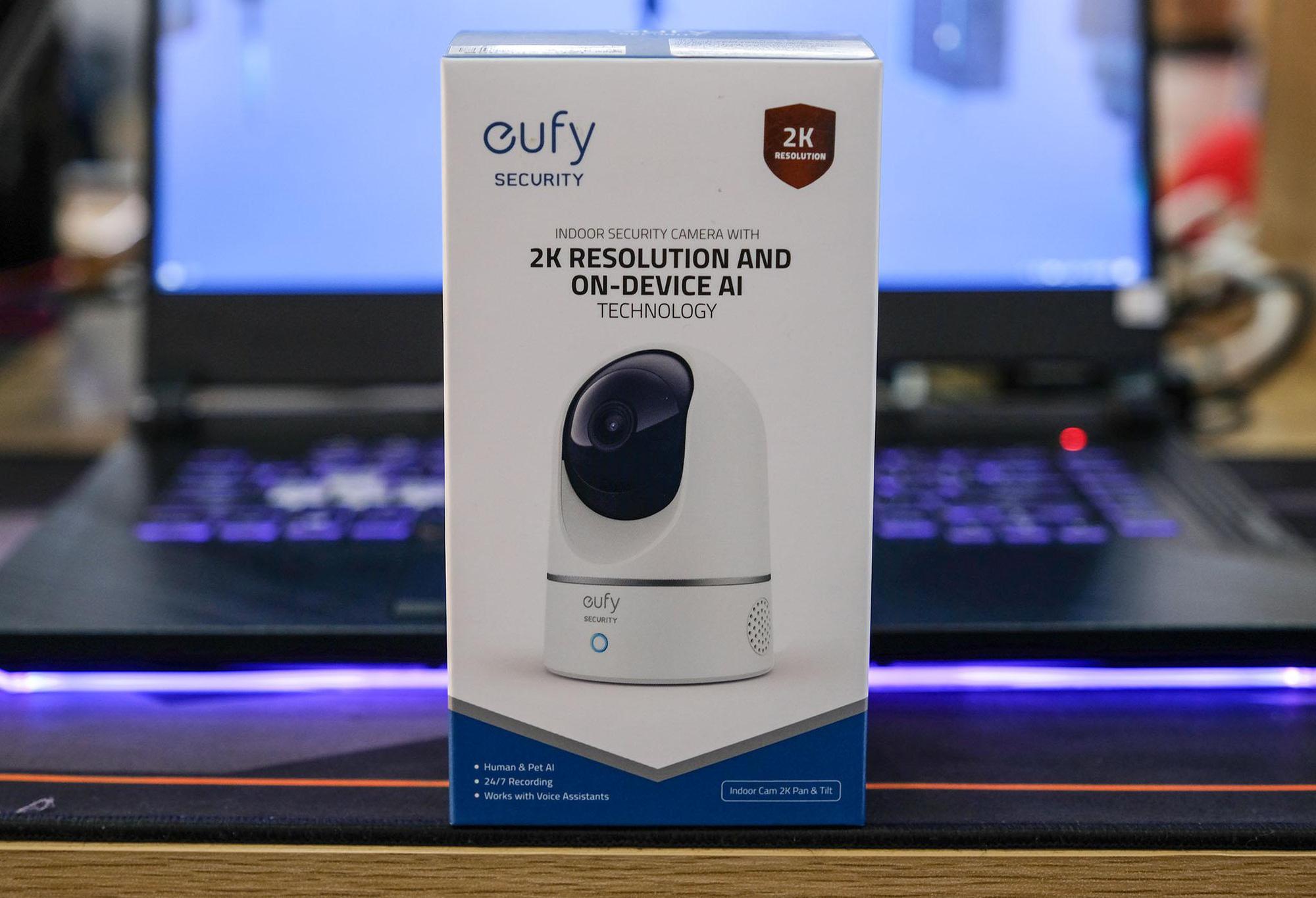 Camera Eufy Indoor 2K Pan and Tilt - Giám sát trẻ nhỏ thật dễ dàng - Ảnh 2.
