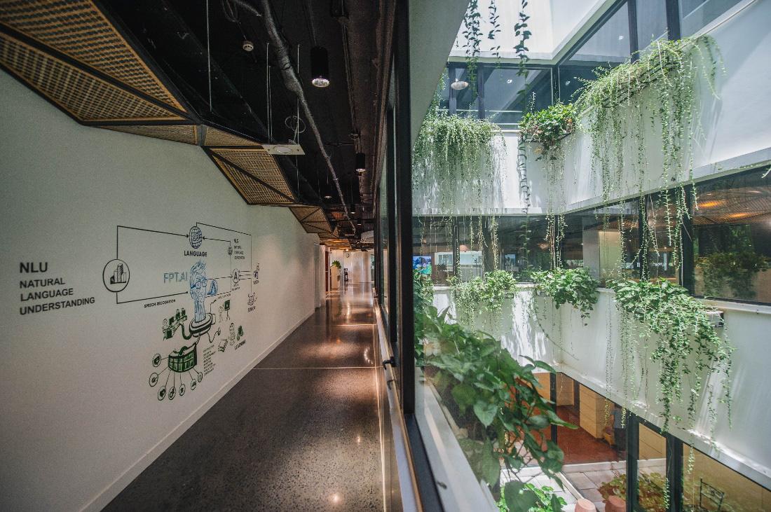 """Campus xanh """"quên lối về"""" của dân công nghệ ngay tại Hà Nội - Ảnh 9."""