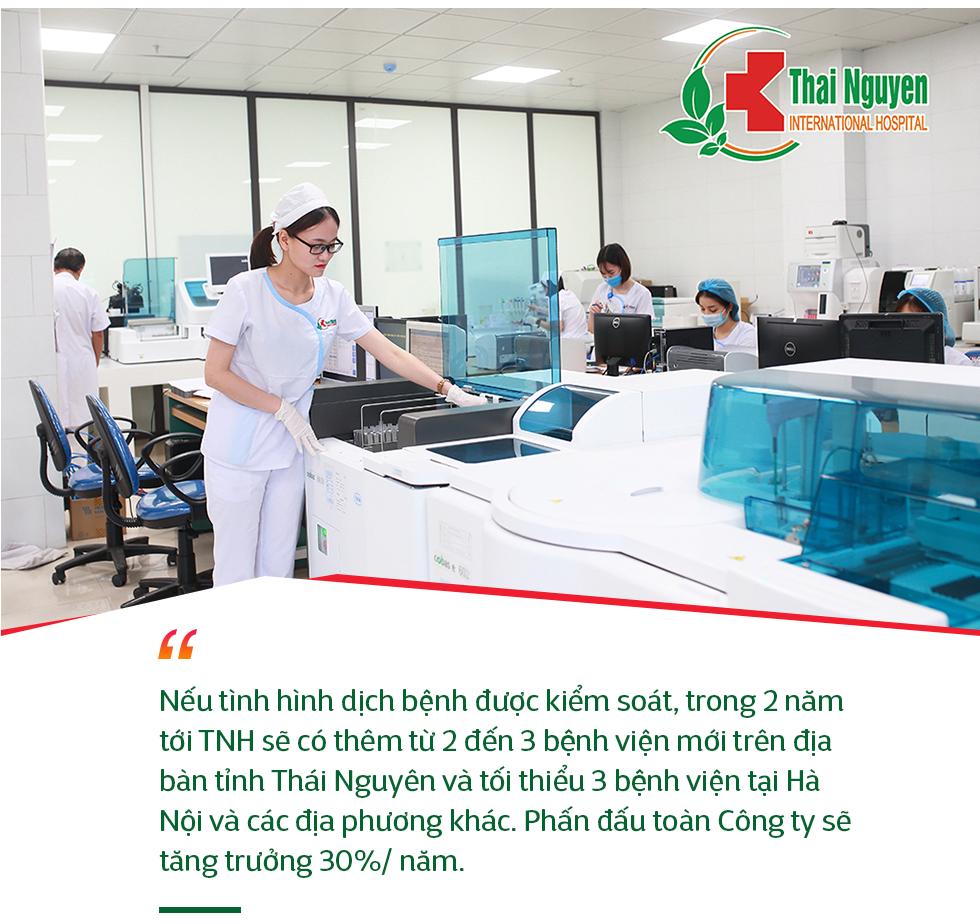 Công ty Cổ phần Bệnh viện Quốc tế Thái Nguyên và câu chuyện tìm vốn trên thị trường để phát triển chuỗi bệnh viện phục vụ được số đông người dân - Ảnh 8.