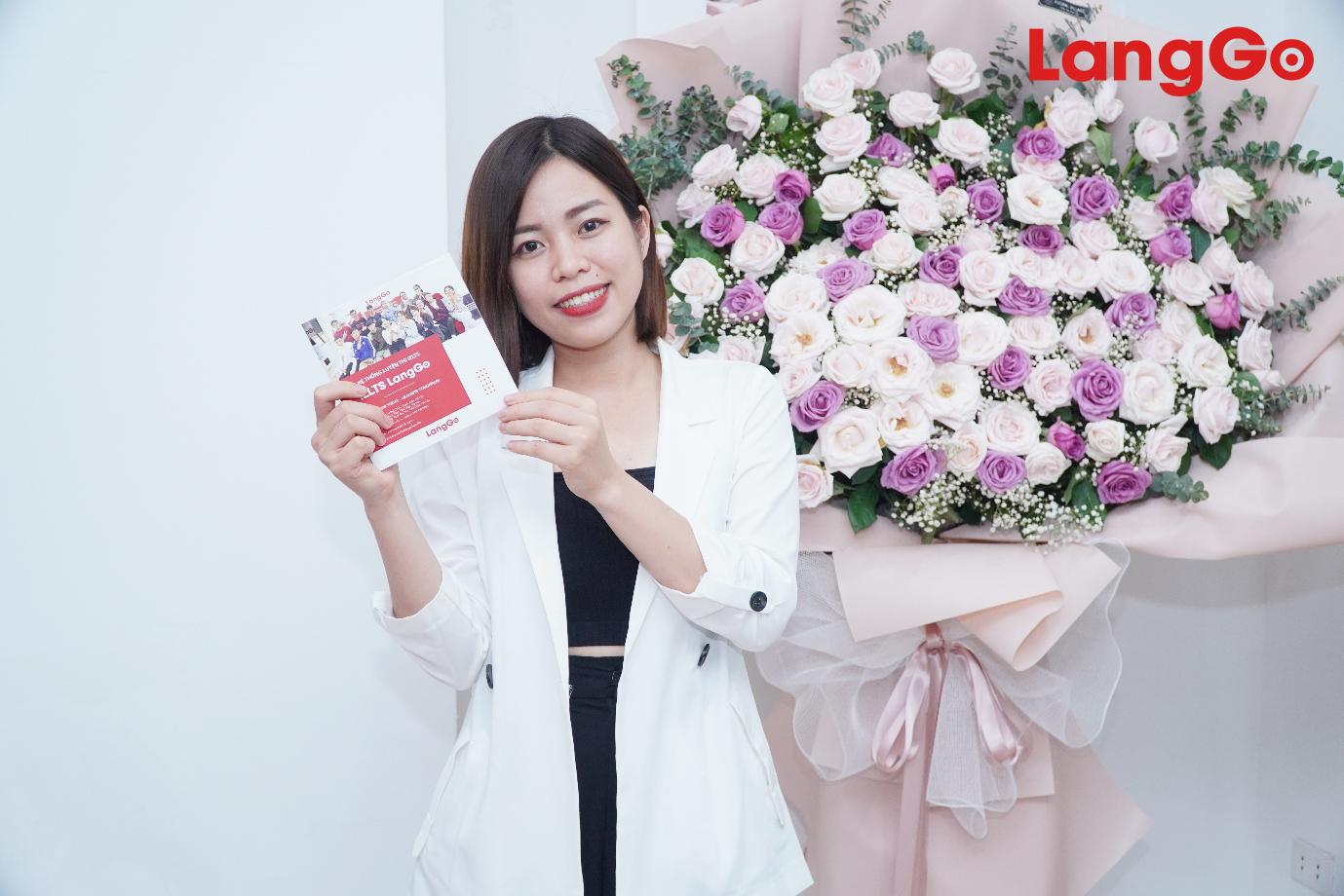 """Cô giáo Diệu Hoa: """"Bông hoa diệu kỳ"""" của trung tâm IELTS LangGo - Ảnh 2."""