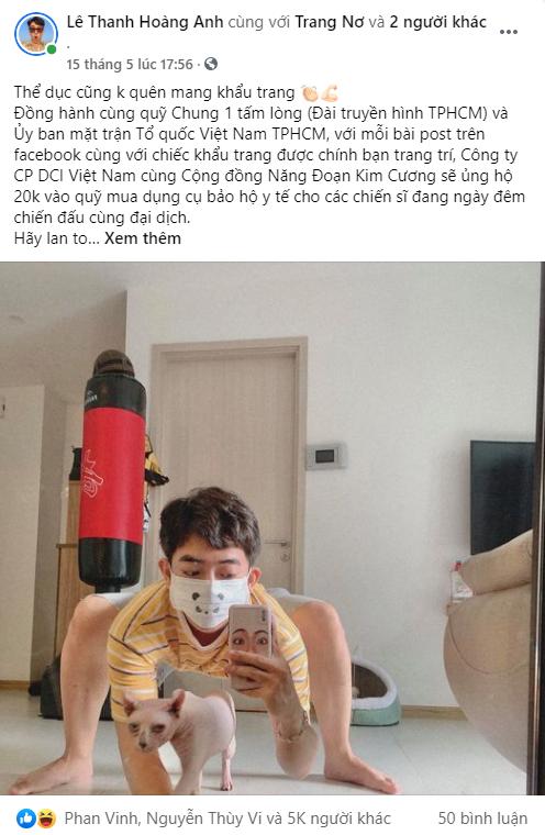 BB Trần, Hải Triều, Tăng Phúc, Trương Thảo Nhi... hưởng ứng chiến dịch đầy ý nghĩa - chung tay đẩy lùi đại dịch - Ảnh 5.