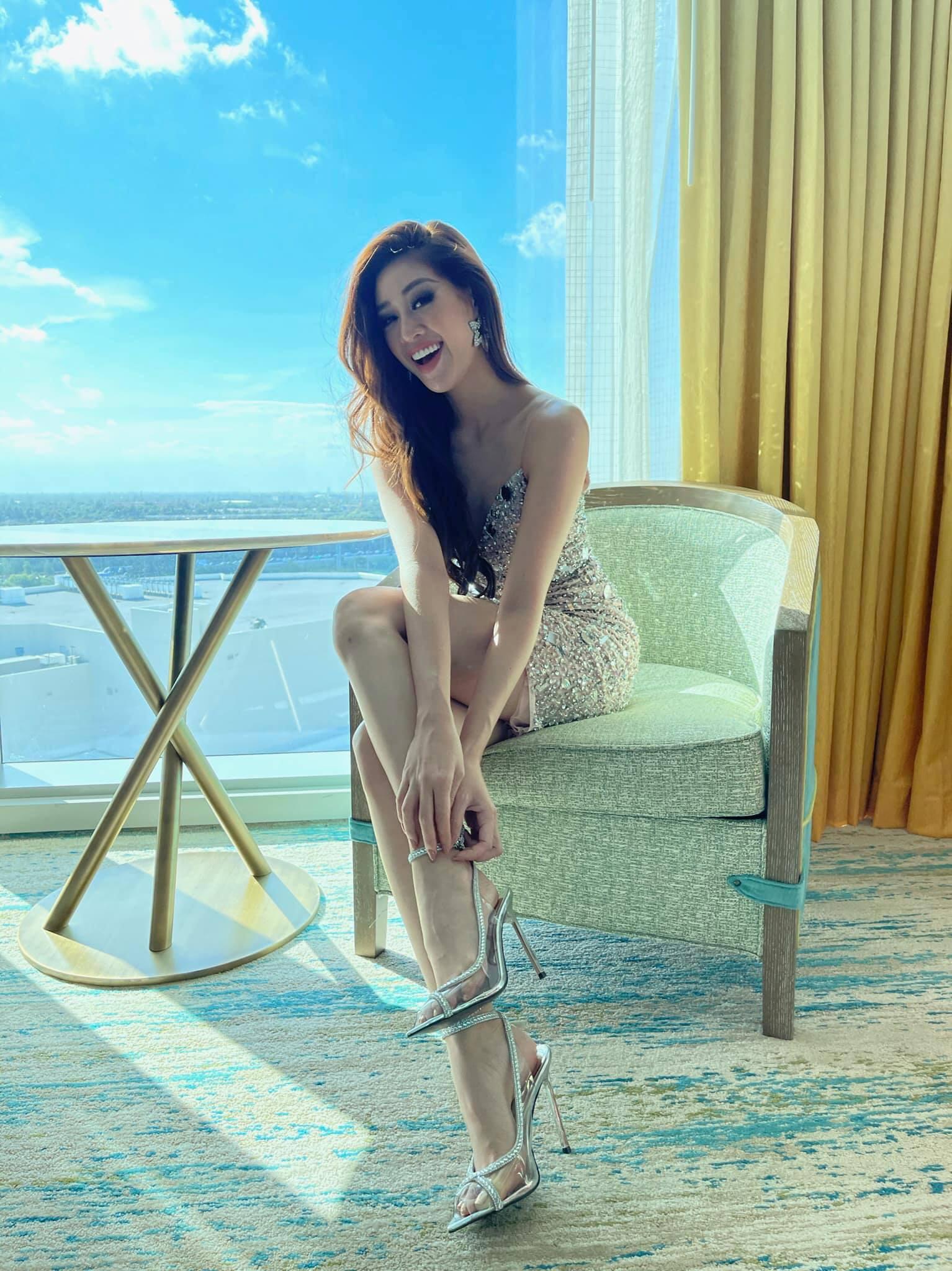 Ý nghĩa đằng sau 3 mẫu giày được thiết kế riêng cho Khánh Vân tại Miss Universe 2020 - Ảnh 3.
