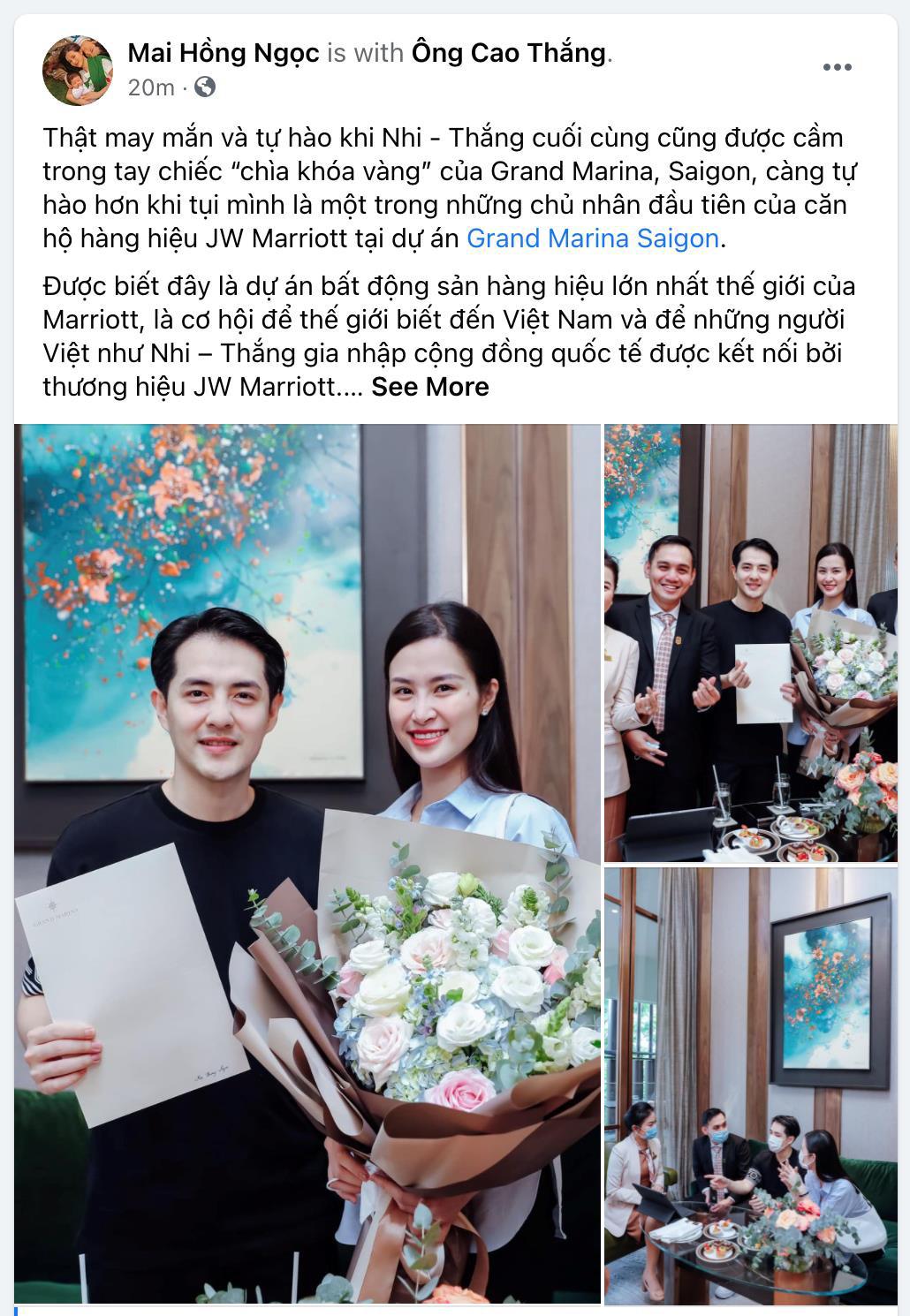 """Đông Nhi và Ông Cao Thắng """"sắm"""" căn hộ hàng hiệu JW Marriott giá trị triệu đô - Ảnh 2."""