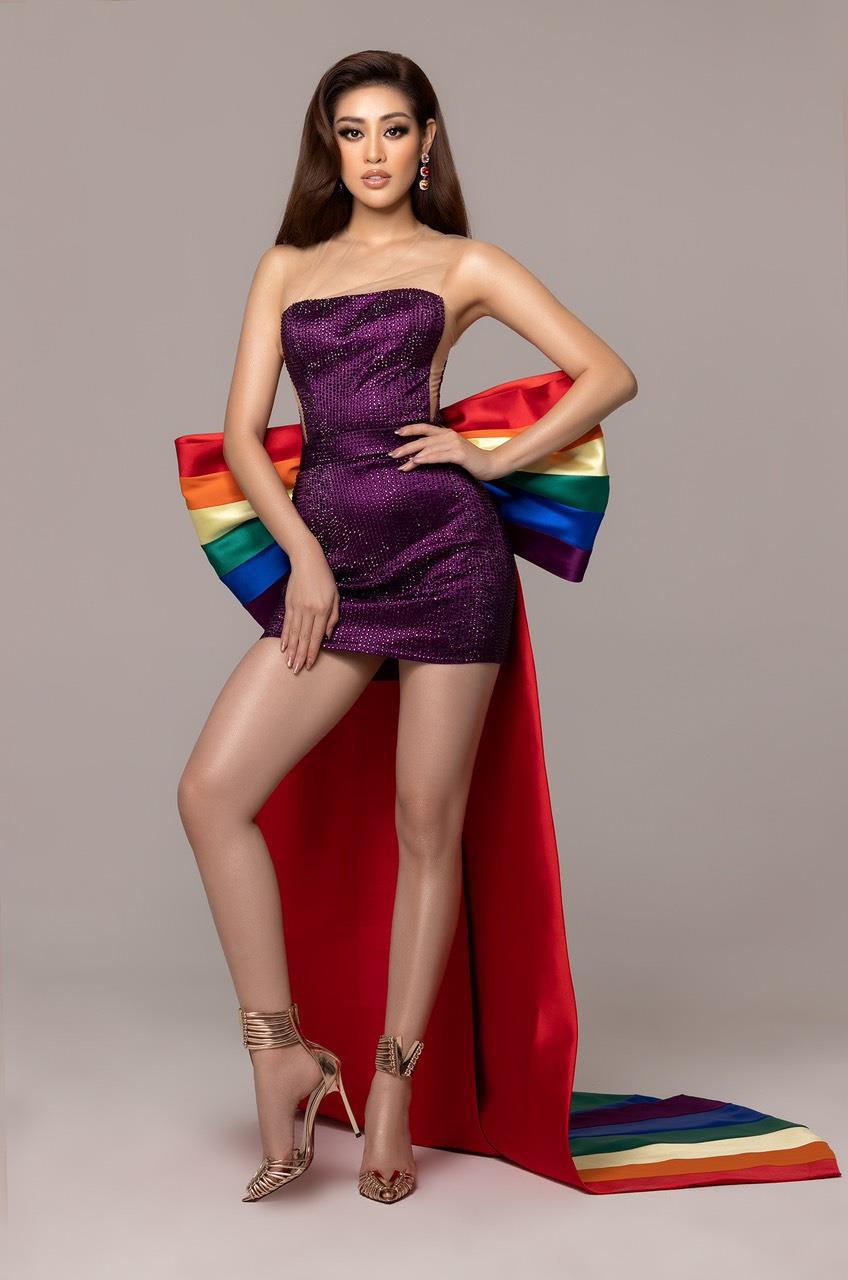 Ý nghĩa đằng sau 3 mẫu giày được thiết kế riêng cho Khánh Vân tại Miss Universe 2020 - Ảnh 4.