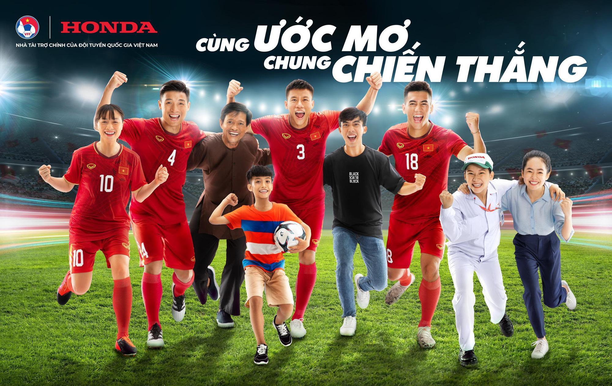 Honda Việt Nam tiếp tục đồng hành cùng nền bóng đá nước nhà - Ảnh 1.