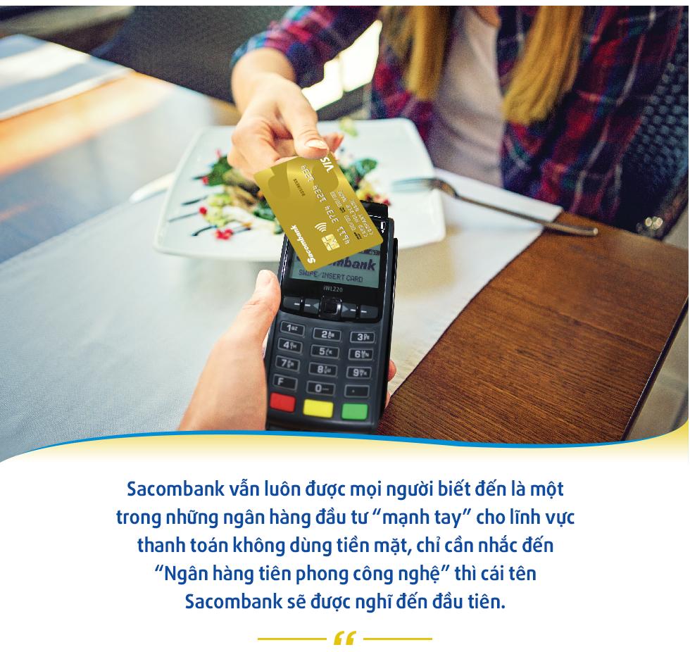 Sacombank và vị trí trên bản đồ thanh toán không dùng tiền mặt tại Việt Nam - Ảnh 2.