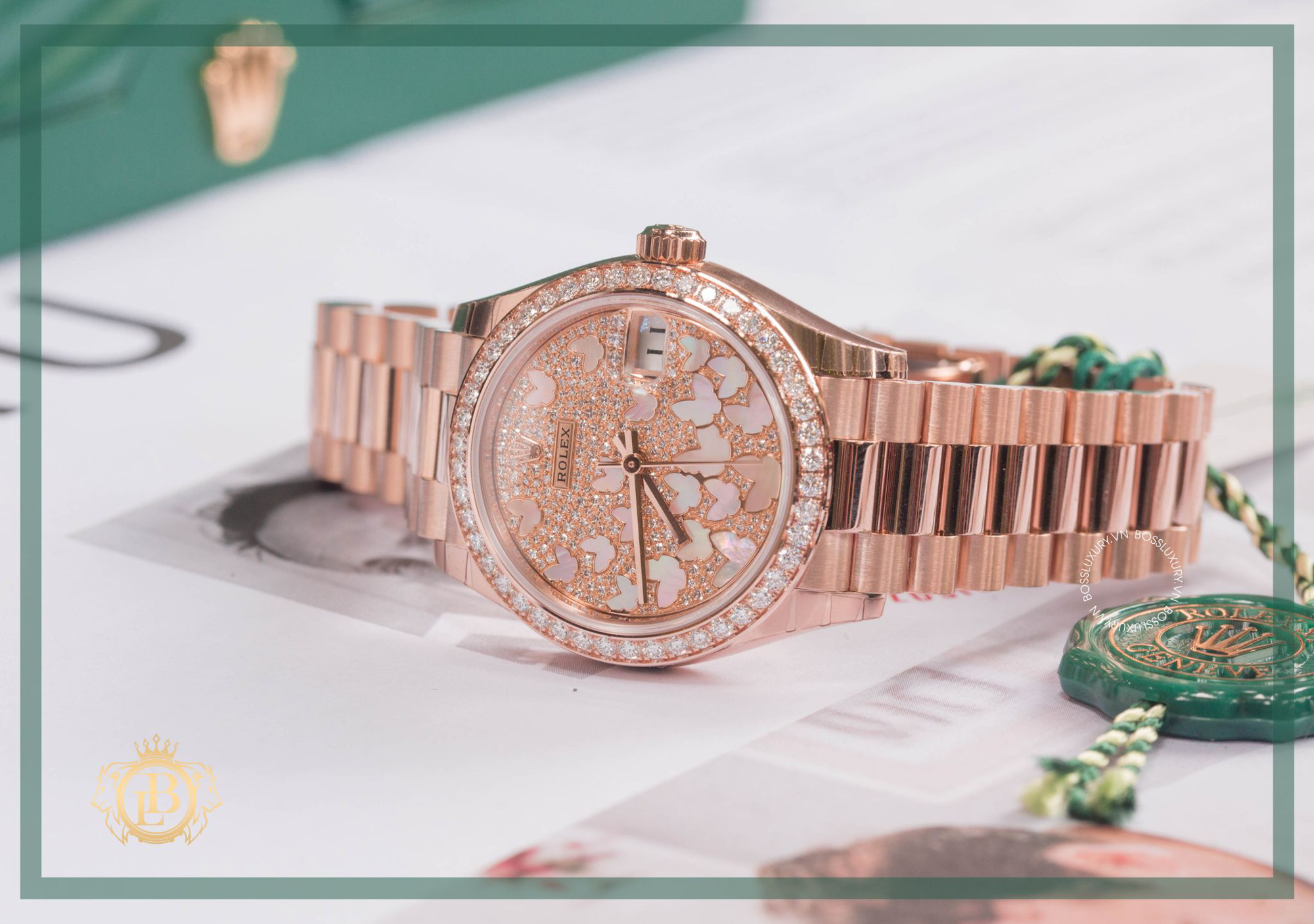 """Boss Luxury """"bật mí"""" bí quyết nâng tầm phong cách với đồng hồ Rolex kim cương lấp lánh - Ảnh 1."""
