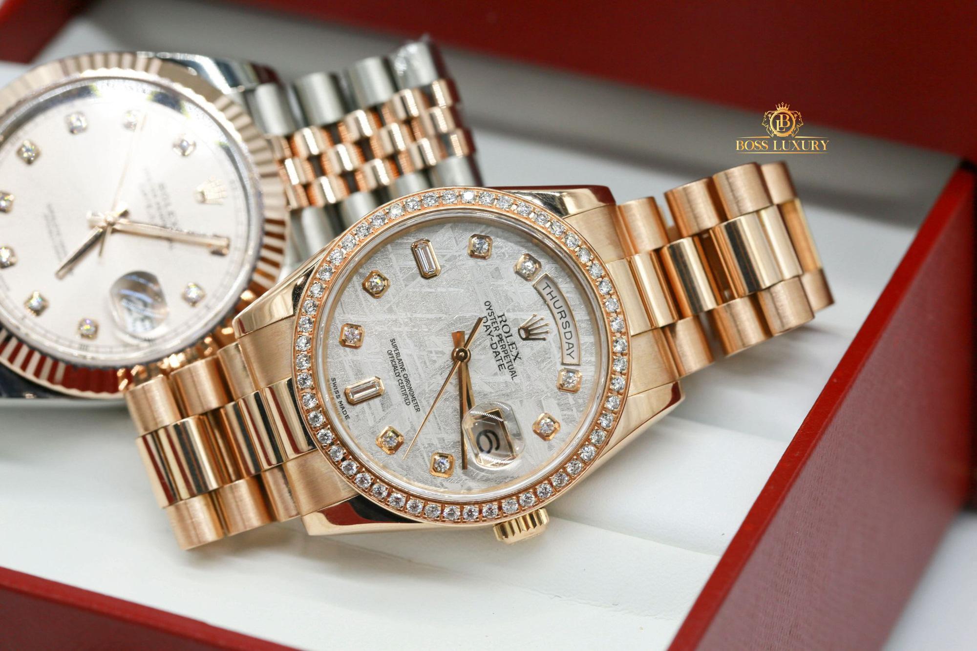 """Boss Luxury """"bật mí"""" bí quyết nâng tầm phong cách với đồng hồ Rolex kim cương lấp lánh - Ảnh 2."""