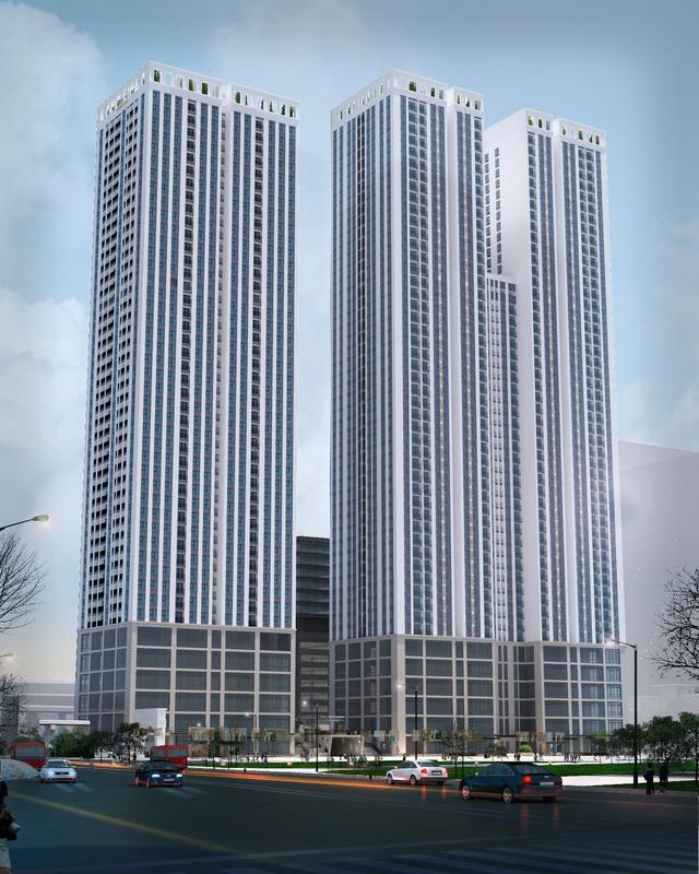 """Trên đà """"Bắc tiến"""", APGCons tiếp tục trúng thầu dự án căn hộ cao 50 tầng tại Hà Nội - Ảnh 1."""