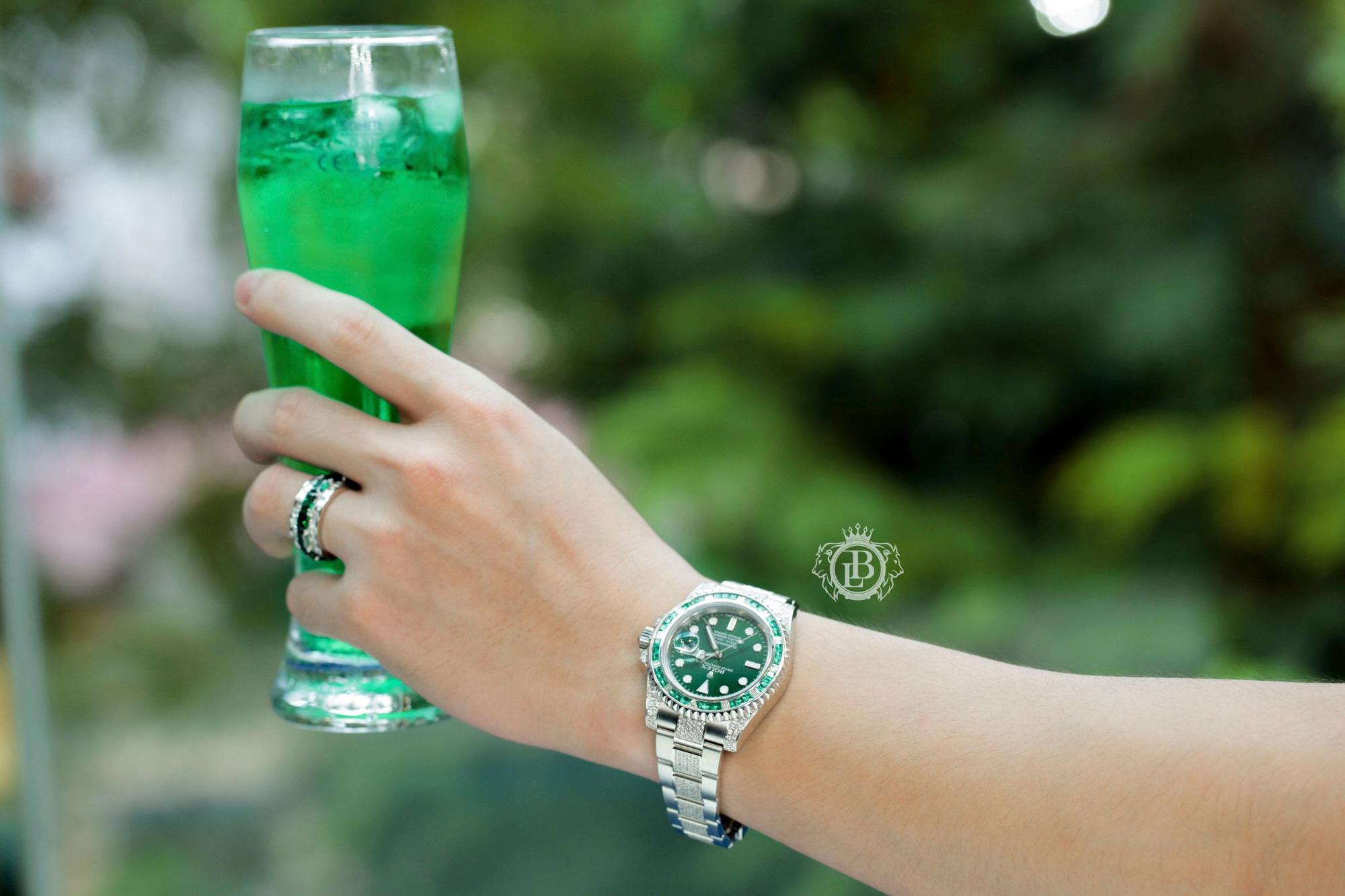 """Boss Luxury """"bật mí"""" bí quyết nâng tầm phong cách với đồng hồ Rolex kim cương lấp lánh - Ảnh 3."""