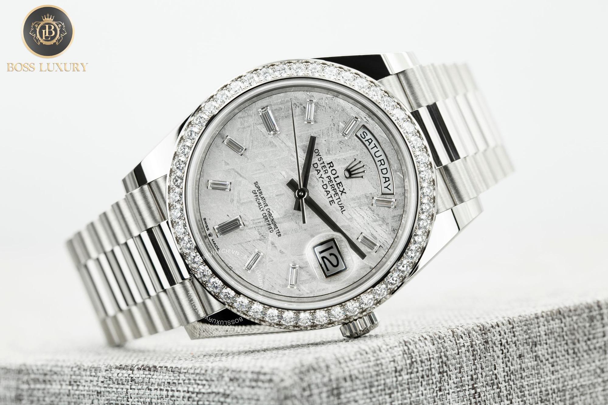 """Boss Luxury """"bật mí"""" bí quyết nâng tầm phong cách với đồng hồ Rolex kim cương lấp lánh - Ảnh 4."""