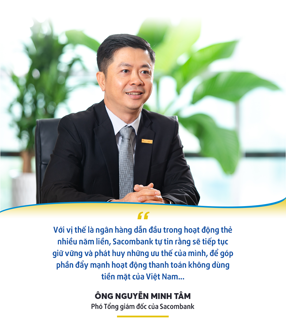 Sacombank và vị trí trên bản đồ thanh toán không dùng tiền mặt tại Việt Nam - Ảnh 5.