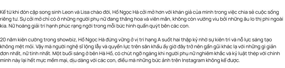 """Hồ Ngọc Hà """"Lần đầu tôi kể"""": Rồi một ngày Hà nói về chuyện làm mẹ - Ảnh 1."""