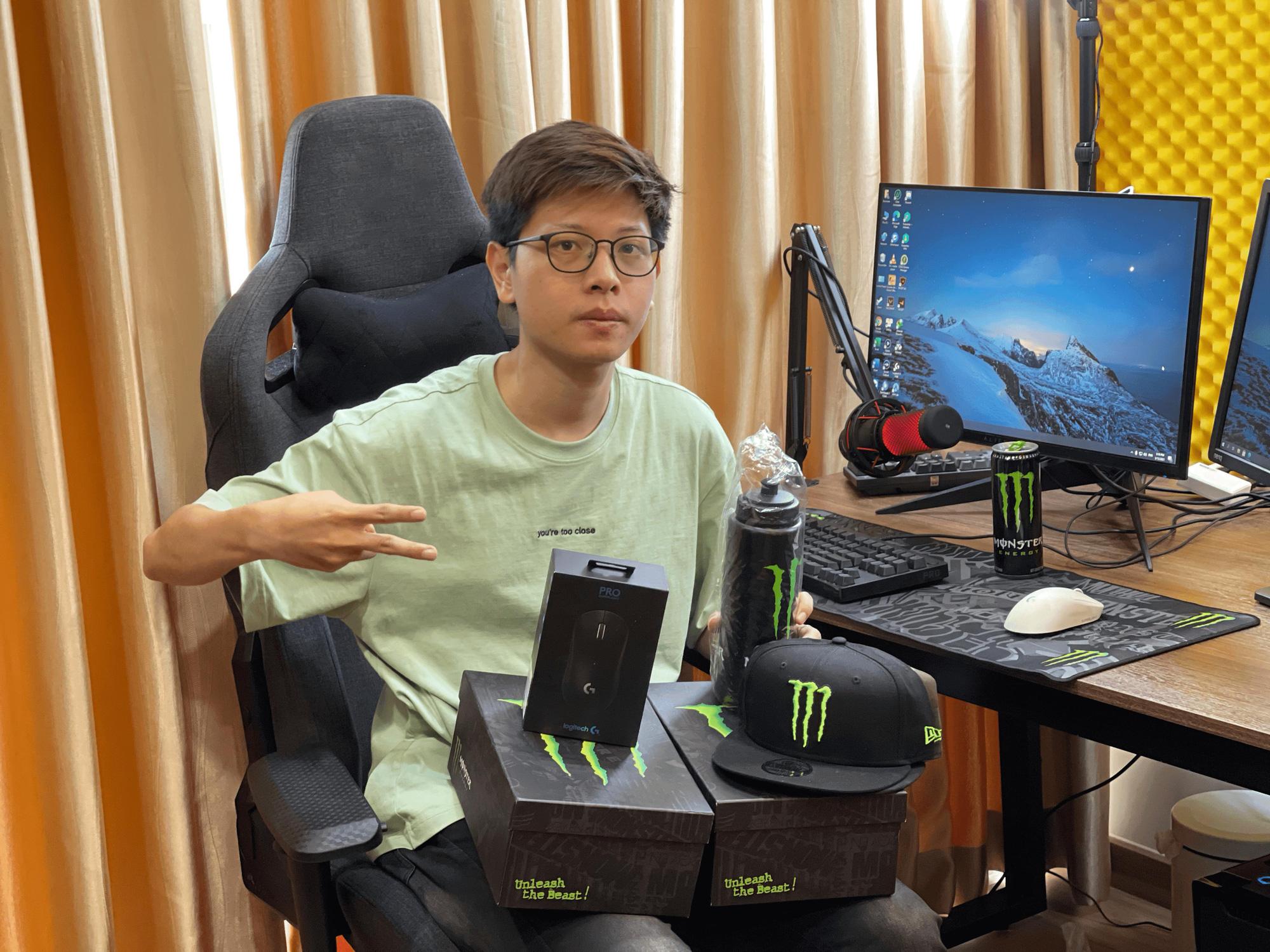 Chơi là trúng - Hàng loạt hot streamer đổ bộ vào cuộc săn 5.000 phần quà gaming cực hot từ Monster Energy - Ảnh 2.