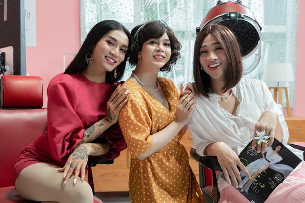 Hậu trường MV Chịu thì chịu không chịu thì chịu: BB Trần, Hải Triều, Ngọc Phước vẫn siêu nhắng nhít xứng danh cây hài - ảnh 5