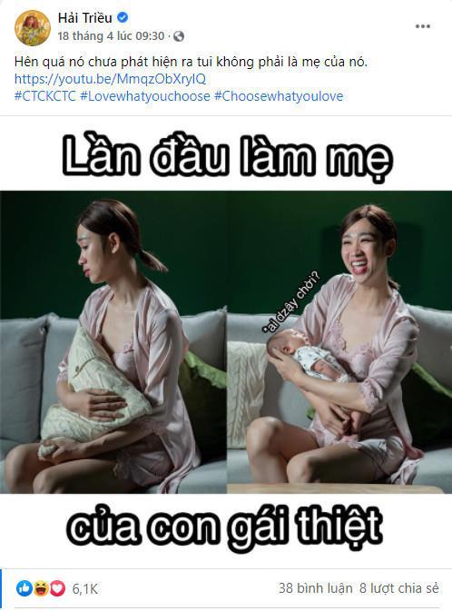 Hậu trường MV Chịu thì chịu không chịu thì chịu: BB Trần, Hải Triều, Ngọc Phước vẫn siêu nhắng nhít xứng danh cây hài - ảnh 7