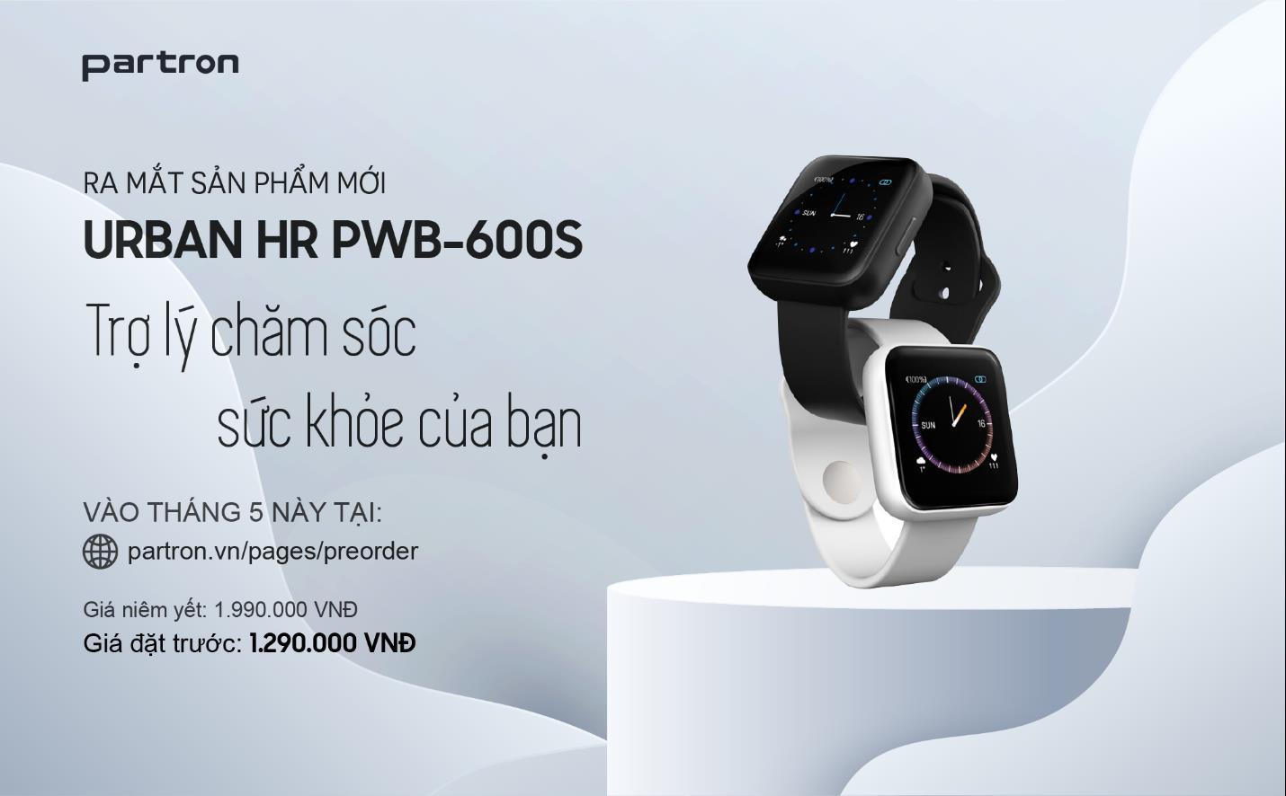 Năng động trong mùa hè này cùng smartwatch Urban HR của Partron, made in Vietnam, vừa thông minh lại vừa đẹp - Ảnh 4.