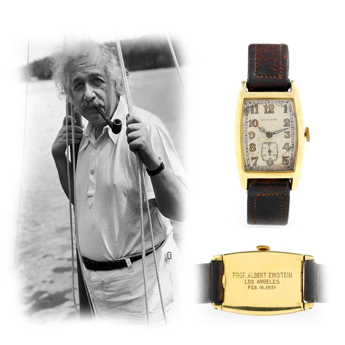 Sự thật đằng sau chiếc đồng hồ đắt giá hàng đầu thế giới mà Albert Einstein sở hữu! - Ảnh 2.