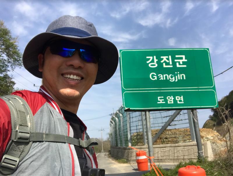 Hành trình đi bộ xuyên Hàn Quốc của chàng trai Việt vì muốn thức tỉnh bản thân mỗi người - Ảnh 1.
