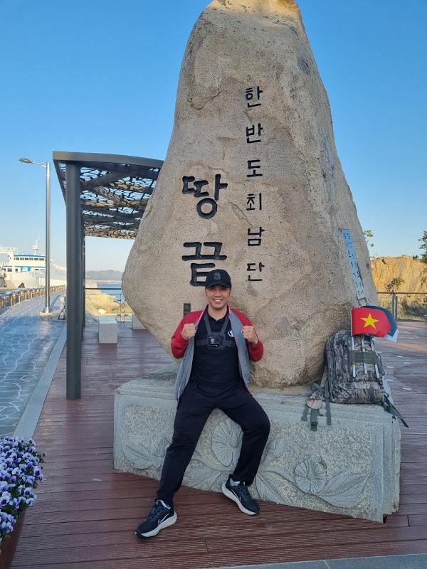 Hành trình đi bộ xuyên Hàn Quốc của chàng trai Việt vì muốn thức tỉnh bản thân mỗi người - Ảnh 2.