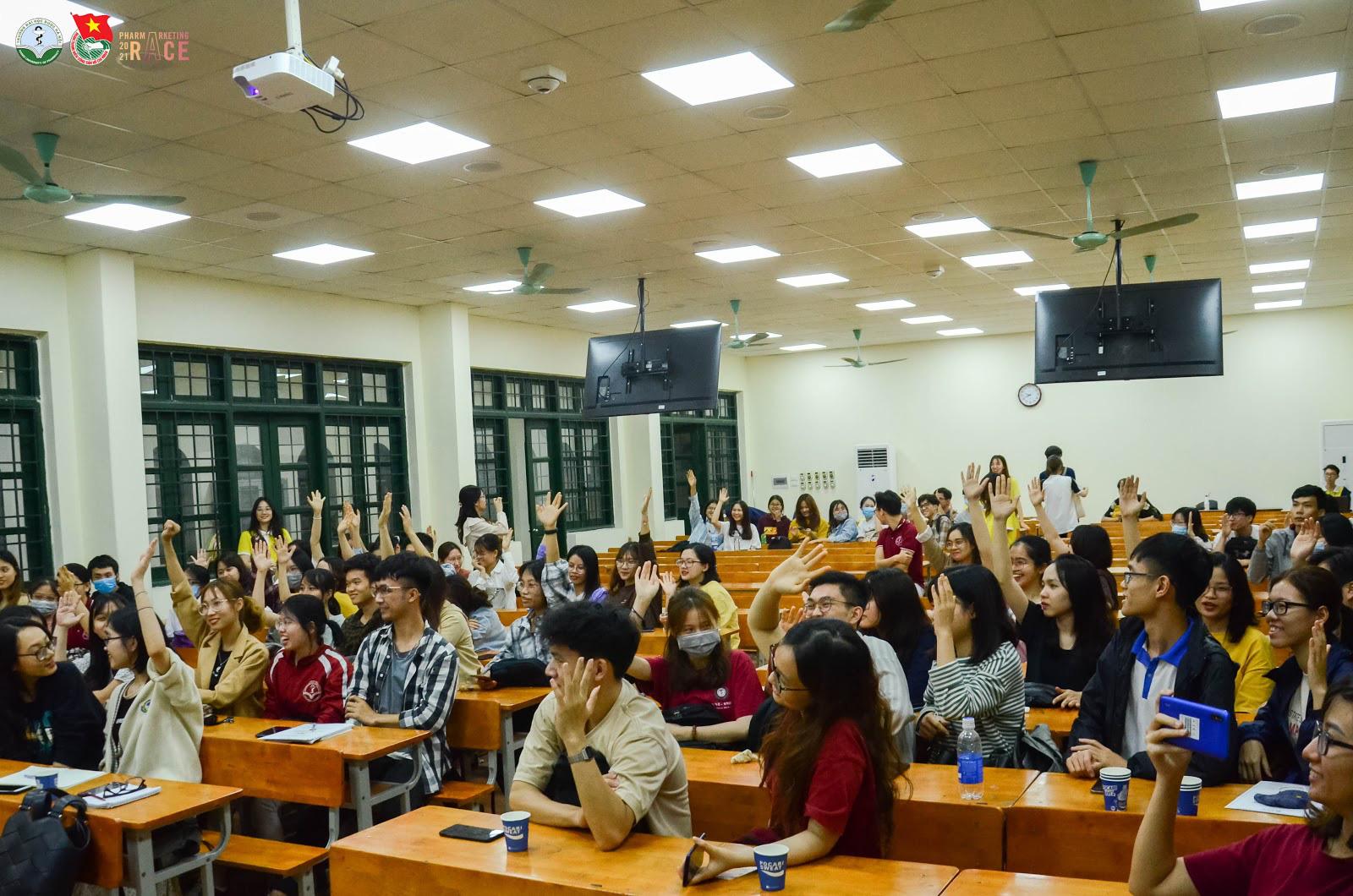 PharMarketing Race - cuộc thi về marketing dược thu hút sự quan tâm của hàng ngàn sinh viên y dược miền Bắc - Ảnh 7.