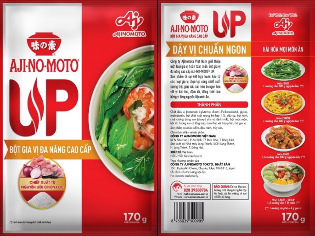 Tận hưởng niềm vui nấu ăn với Bột gia vị đa năng AJI-NO-MOTO® UP - Ảnh 1.