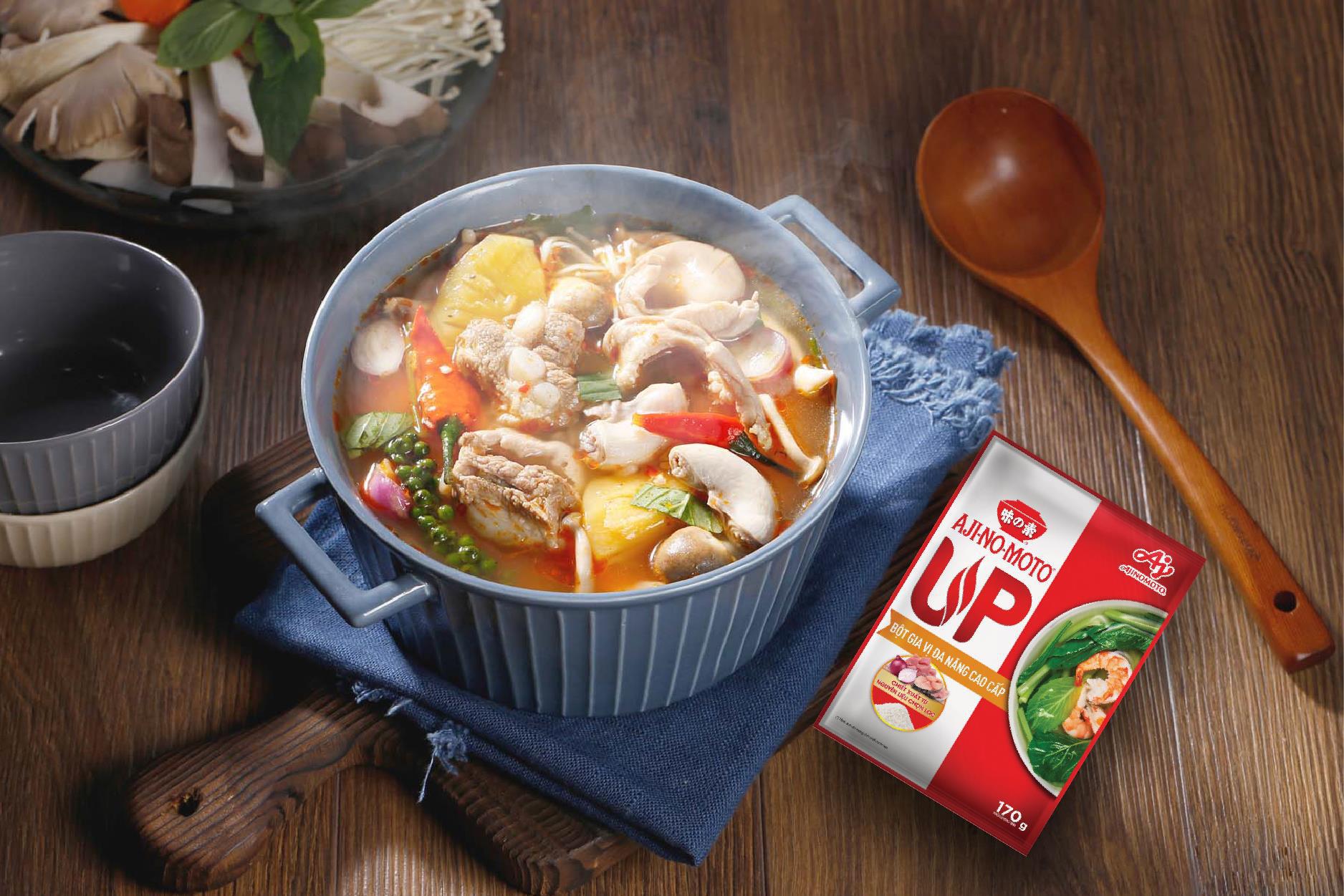 Tận hưởng niềm vui nấu ăn với Bột gia vị đa năng AJI-NO-MOTO® UP - Ảnh 2.