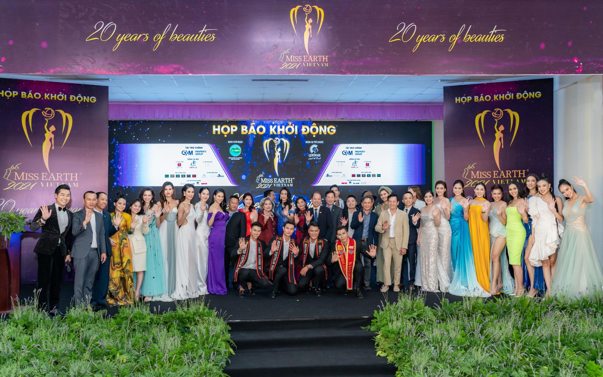 Hoa hậu Trái đất 2021 quy tụ dàn celeb khủng, hội ngộ 7 Miss Earth Vietnam - Ảnh 1.