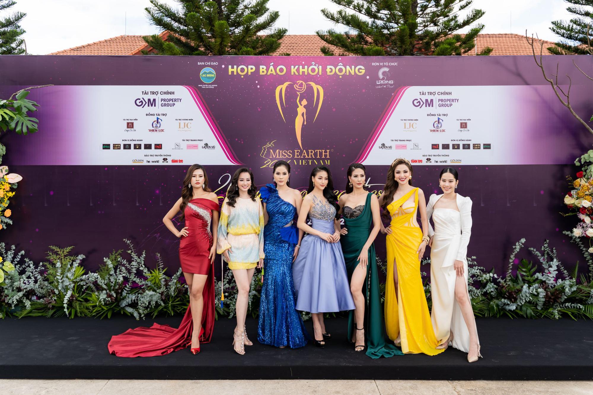 Hoa hậu Trái đất 2021 quy tụ dàn celeb khủng, hội ngộ 7 Miss Earth Vietnam - Ảnh 2.