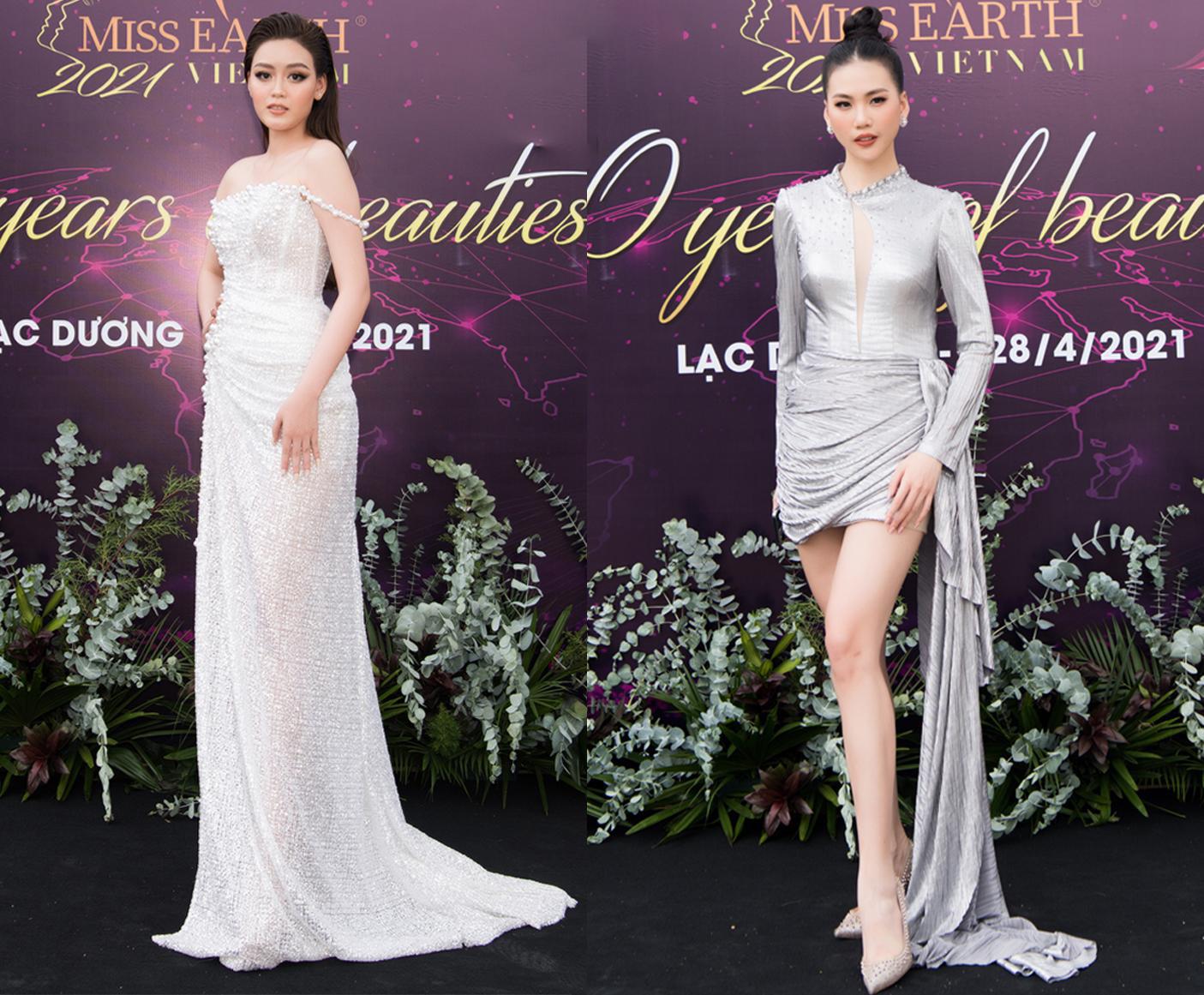 Hoa hậu Trái đất 2021 quy tụ dàn celeb khủng, hội ngộ 7 Miss Earth Vietnam - Ảnh 5.