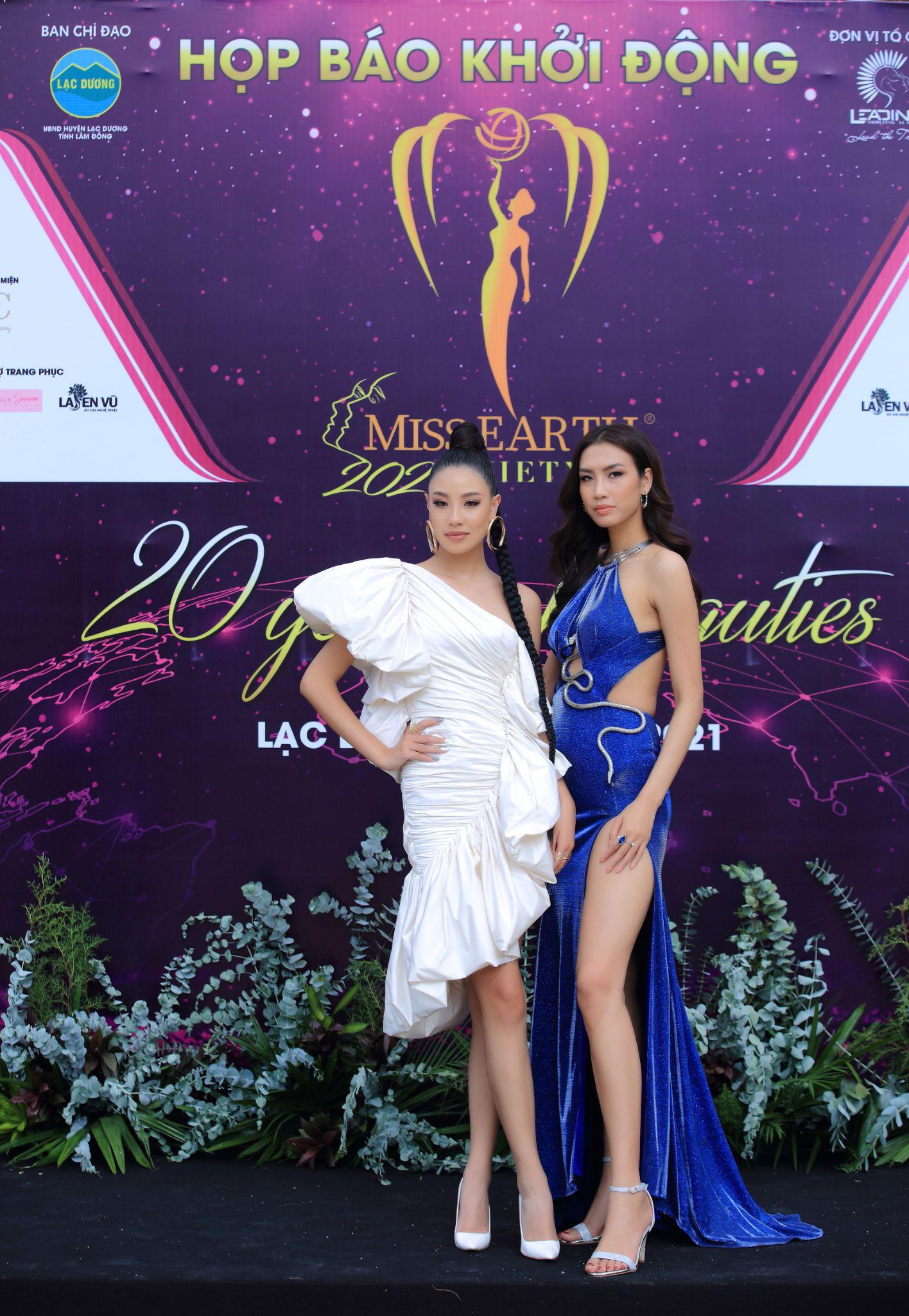 Hoa hậu Trái đất 2021 quy tụ dàn celeb khủng, hội ngộ 7 Miss Earth Vietnam - Ảnh 7.