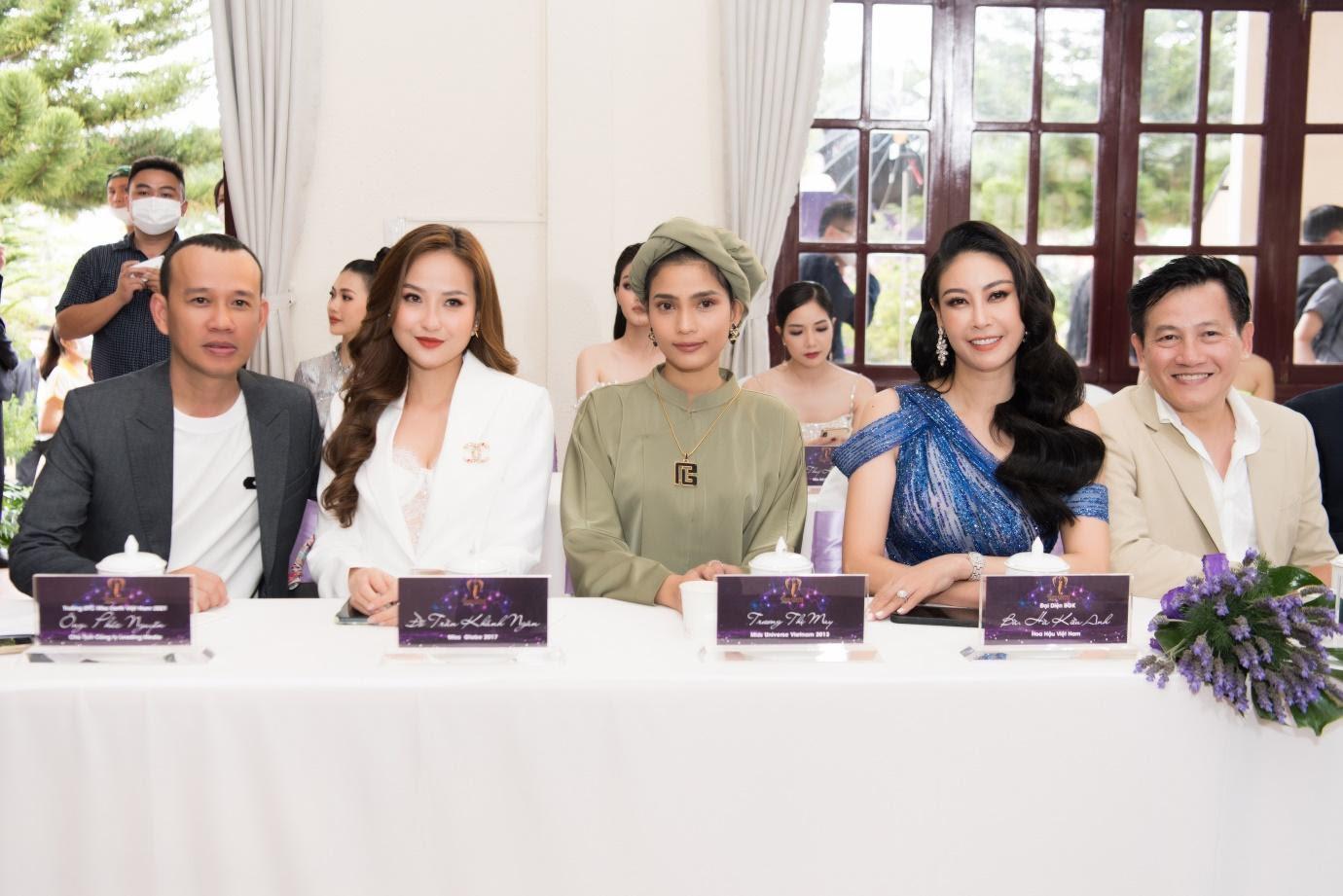 Hoa hậu Trái đất 2021 quy tụ dàn celeb khủng, hội ngộ 7 Miss Earth Vietnam - Ảnh 10.