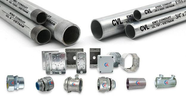 Ống luồn dây điện CVL là sản phẩm công nghiệp hỗ trợ tiêu biểu - Ảnh 1.