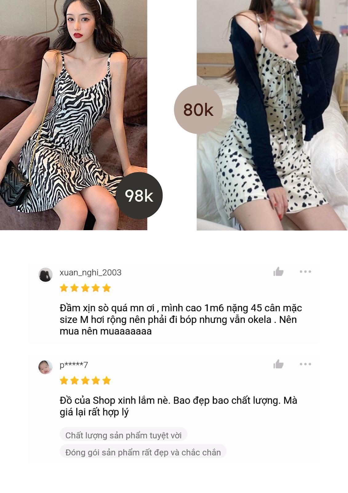 Lướt Shopee mỗi ngày có chắc bạn biết 5 shop quần áo bán váy hoa siêu xinh có giá từ 80K! - Ảnh 1.