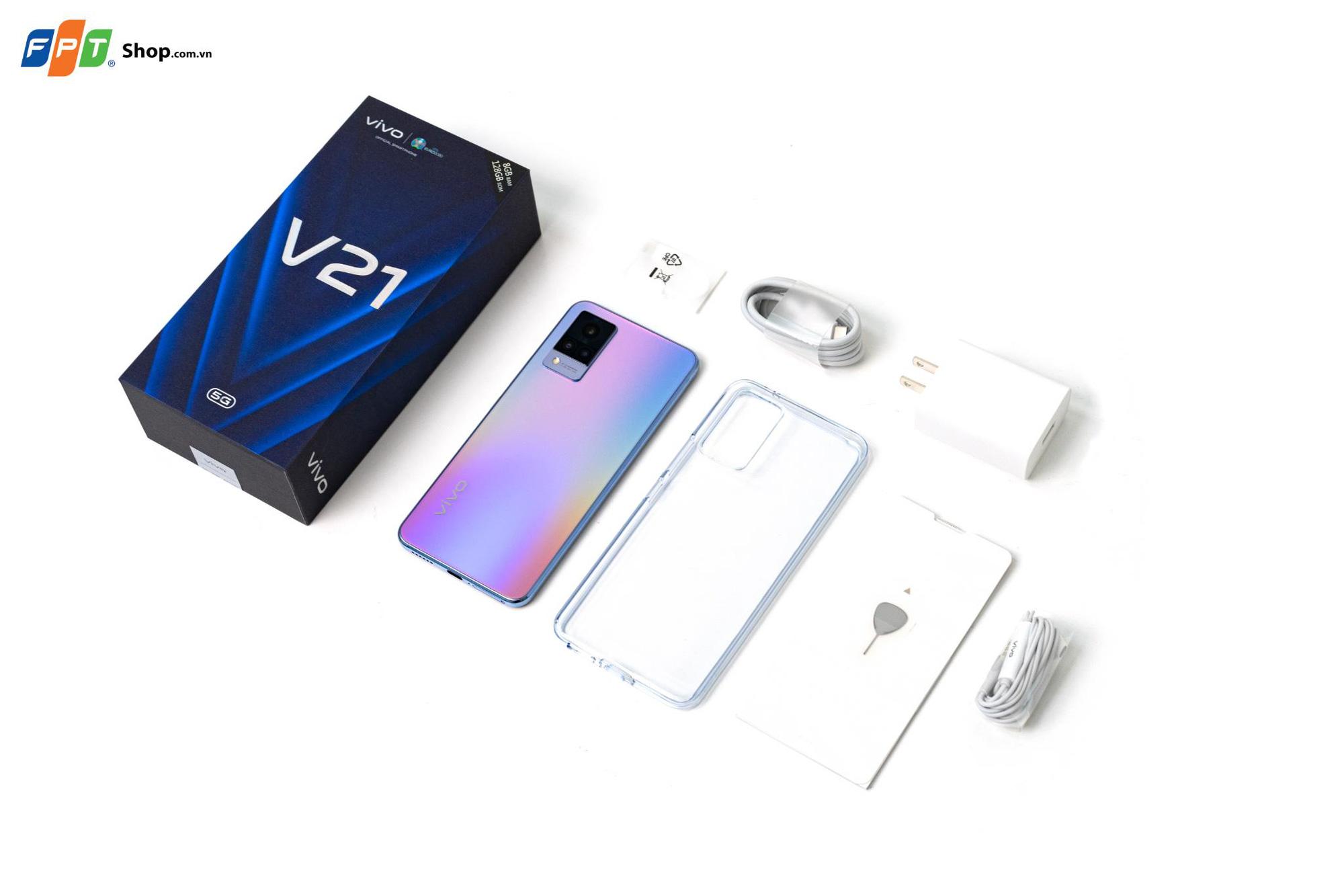 Đặt trước vivo V21 5G tại FPT Shop, nhận ưu đãi đến 2 triệu đồng - Ảnh 2.