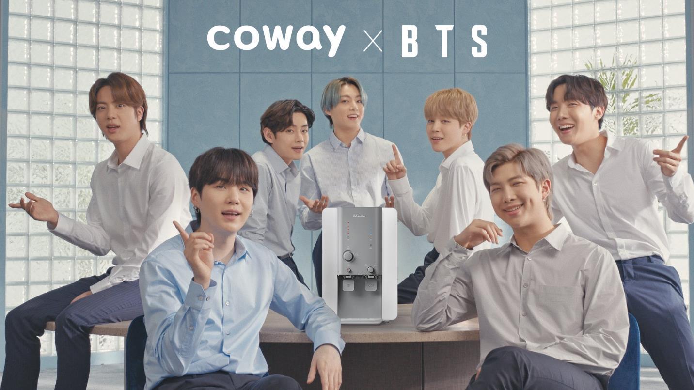 BTS trở thành đại sứ thương hiệu toàn cầu mới của Coway - Ảnh 2.