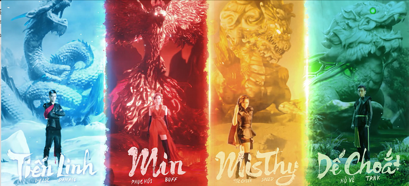 Lần đầu tiên thấy! Tiến Linh, Min, MisThy và Dế Choắt cùng kết hợp, hóa thân thành tứ linh trong Võ Lâm Truyền Kỳ 1 Mobile - Ảnh 16.