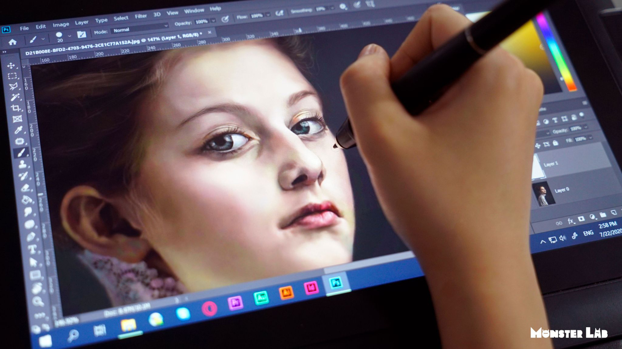 Theo chân Monster Lab tìm hiểu Digital Painting - Nghề dành riêng cho bạn trẻ thích vẽ - Ảnh 1.