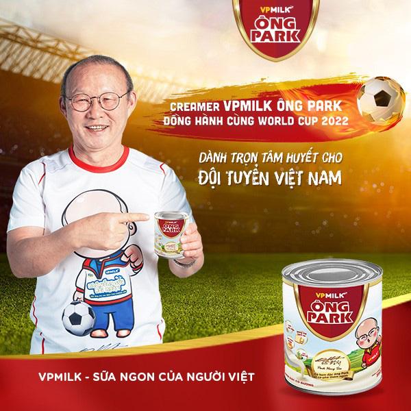 VPMilk đồng hành cùng HLV Park Hang-seo chinh phục vòng loại World Cup - Ảnh 3.