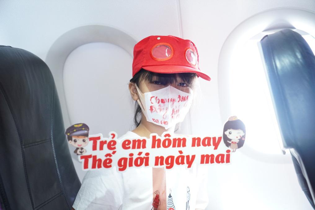 Vietjet lan toả niềm vui bằng hoạt động đặc biệt nhân ngày Quốc tế Thiếu nhi - Ảnh 7.